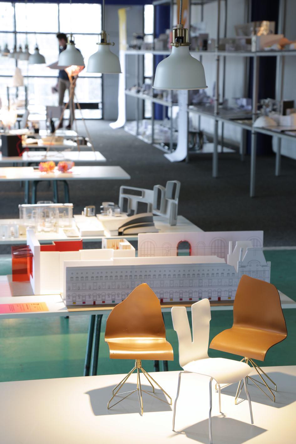 Cuisine ouverte cole camondo for L architecture interieure