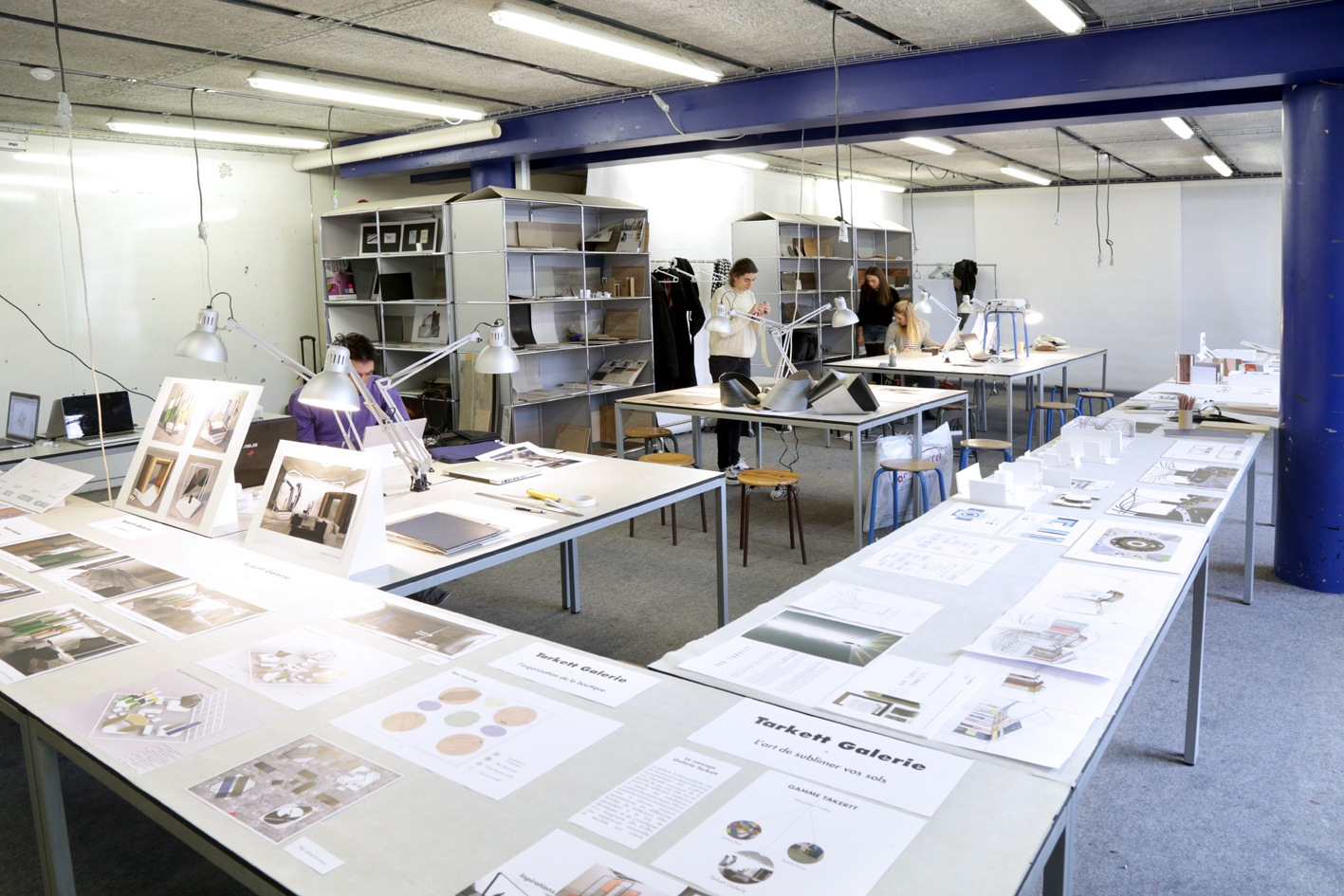 Workshop tarkett ann e 4 2016 2017 architecture for Design interieur cours