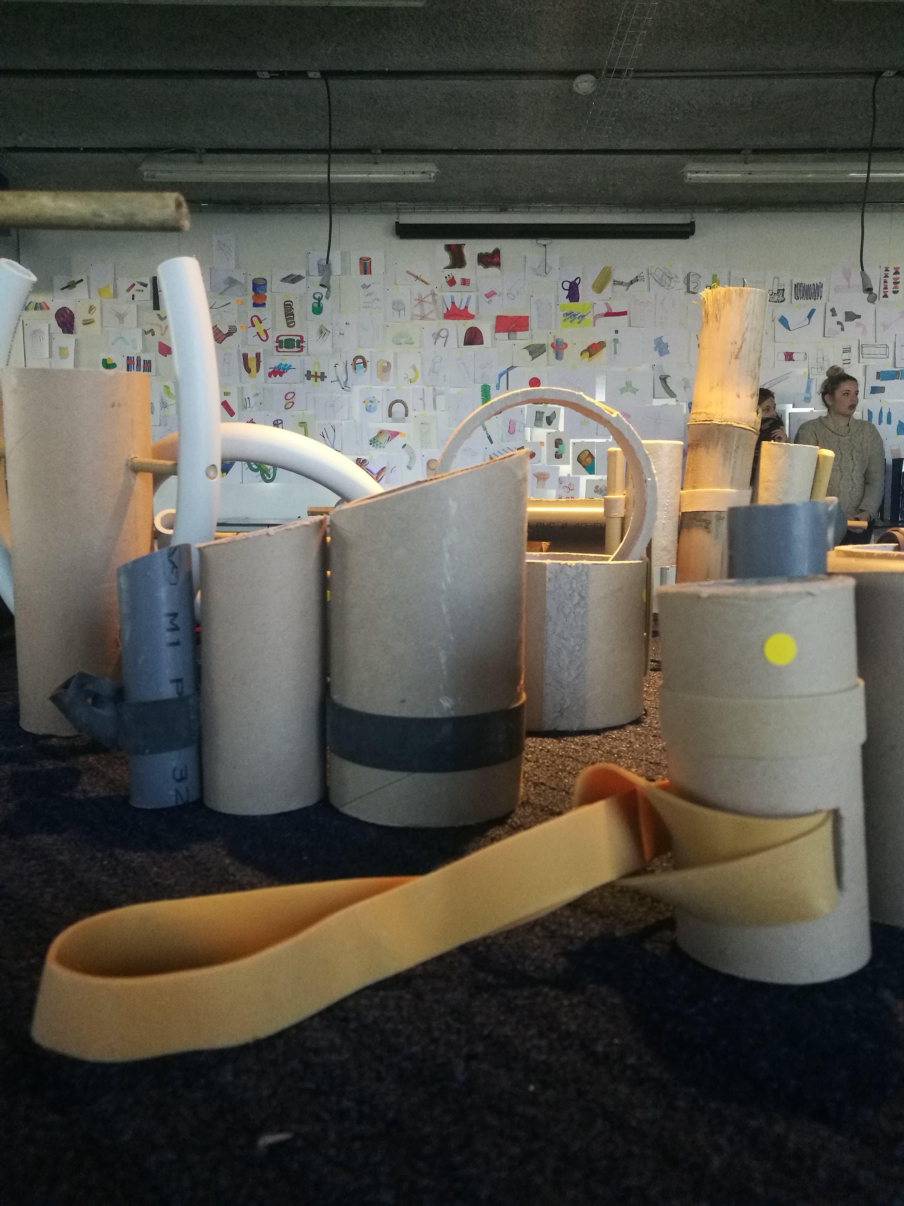 Bamboutuyo, expérimentations libres design année 3